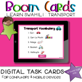 Learn Swahili Transport | BOOM Cards Learning