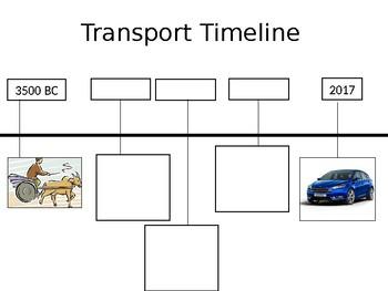 Transport timeline worksheet
