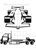 Transportation 10 Frame Mat