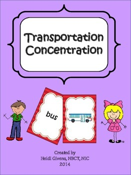 Transportation Concentration