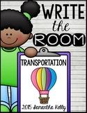 Transportation Write the Room Center