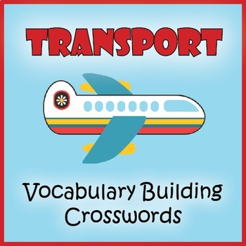 Transportation Words Puzzle Pack