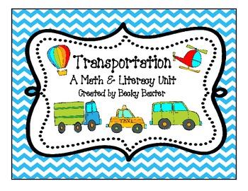 Transportation- A Math & Literacy Unit