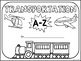 Transportation  A-Z Book Writing Activity