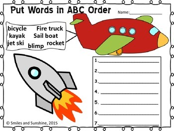 Transportation ABC Order