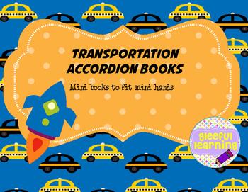 Transportation Accordion Book