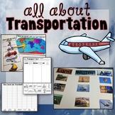 Transportation Activities for Kindergarten