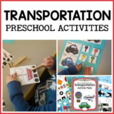 Transportation Activities for Pre-K, Preschool and Tots