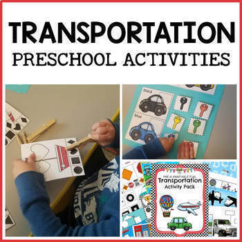 Transportation Preschool Activities and Centers
