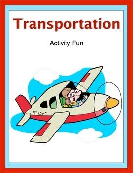 Transportation Activity Fun