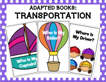 Transportation Adapted Book Bundle