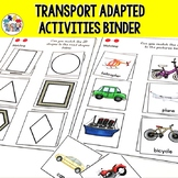 Transportation Adapted Book for Special Education