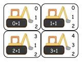 Transportation Addition Clip Cards