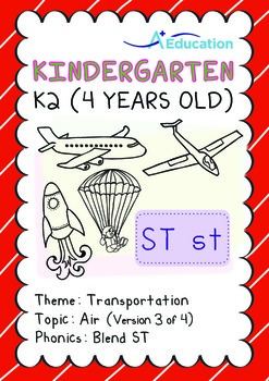 Transportation - Air (III): Blend ST - K2 (4 years old)