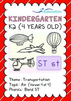 Transportation - Air (IV): Blend ST - K2 (4 years old)