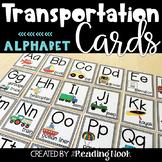 Transportation Alphabet Cards