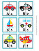 Transportation Alphabet Letter Match Puzzles