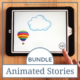 AAC Core Vocabulary Animated Stories Bundle