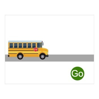 AAC Core Vocabulary Animated Stories: Transportation