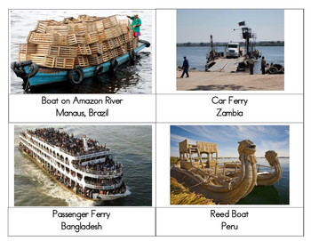 Transportation Around the World (Real Photos)