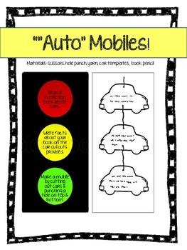 Transportation Art & Literacy Lesson Bundle {33 Pages)