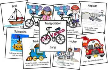 Transportation Bang! CVC Version