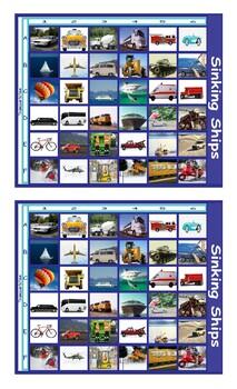 Transportation Battleship Board Game