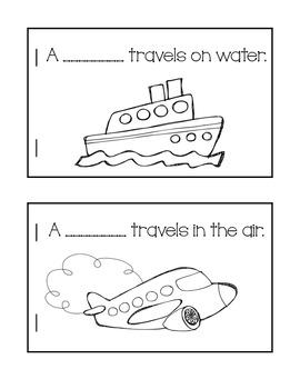 Transportation! Beep! Beep! {A Literacy and Math Unit}
