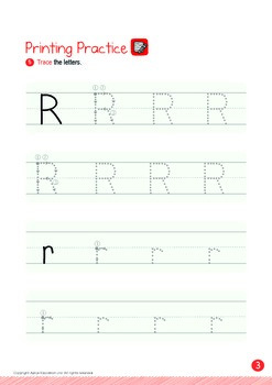 Transportation - Bicycle, Airplane (II): Letter R - K1 (3 years old)