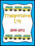 Transportation Binder