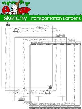 Transportation Borders / Frames