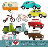 Transportation Bundle Clip Art (RDS Clipart)