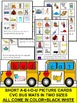 Transportation- CVC WORD WORK- Missing Sounds Pin it+Build the word