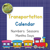 Transportation Calendar Set