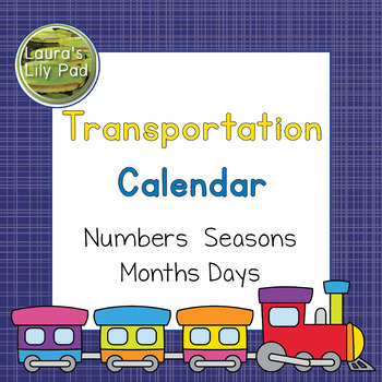 Transportation Calendar Set