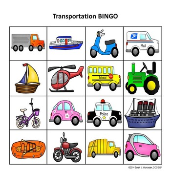 Transportation Categories Rummy