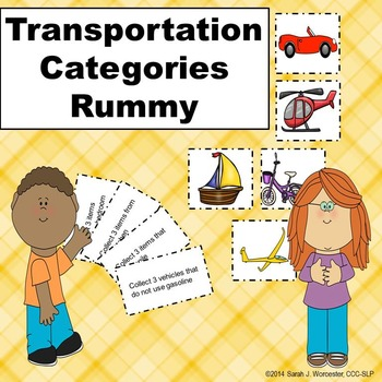 Transportation Categories Rummy