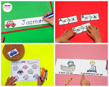 Transportation Centers and Activities for Pre-K/Kindergarten