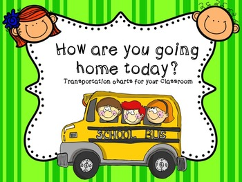 Transportation Chart Freebie