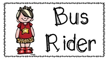Transportation Chart- Rockstar Theme