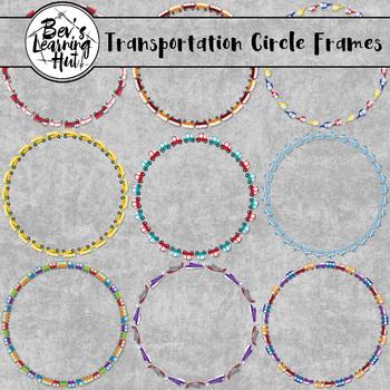 Transportation Circle Frames