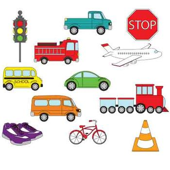 transportation clip art by kindergarten supplies tpt rh teacherspayteachers com transportation clipart black and white transportation clipart free