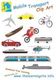 Transportation Clip Art