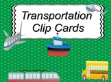 Transportation Clip Cards