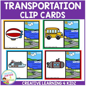 Transportation Clip Cards