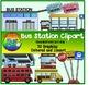 Transportation Clipart (Bundle)