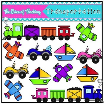Transportation (The Price of Teaching Clipart Set)