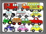 Transportation Clip Art 1 by Charlotte's Clips