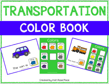 Transportation Color Books (Adapted Books)
