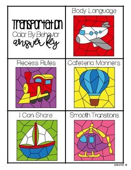Transportation - Color By Behavior